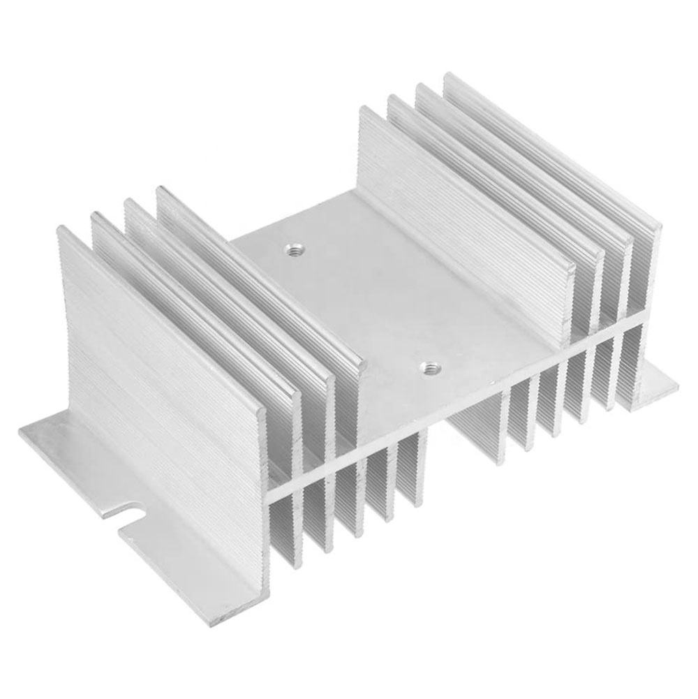 125X50X70mm Aluminium Heat Dissipation Cooling Heatsink Cooler Sink for Solid State Relay SSR