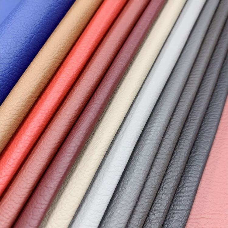 Embossed PVC Eco Friendly Faux Leather Wholesale Materials