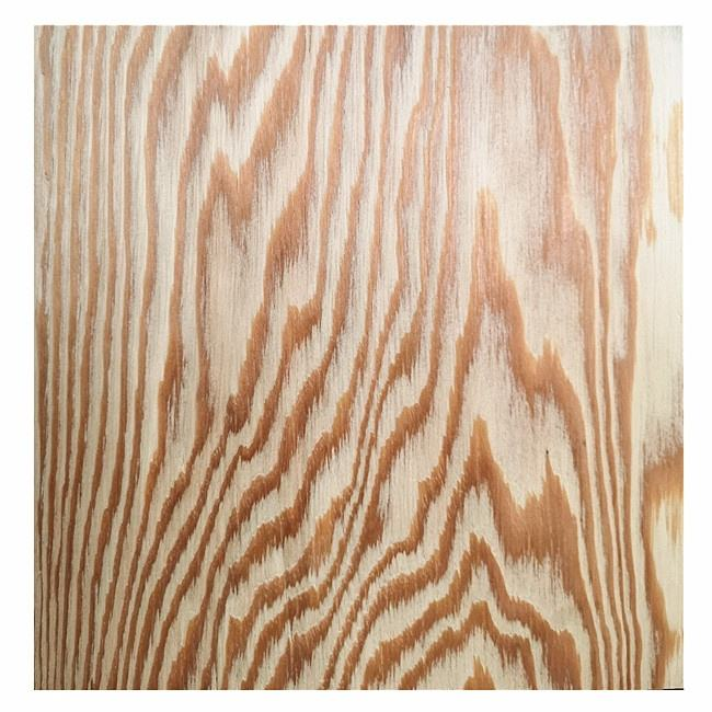 14.5mm Russian larch wood veneer plywood used for indoor decoration