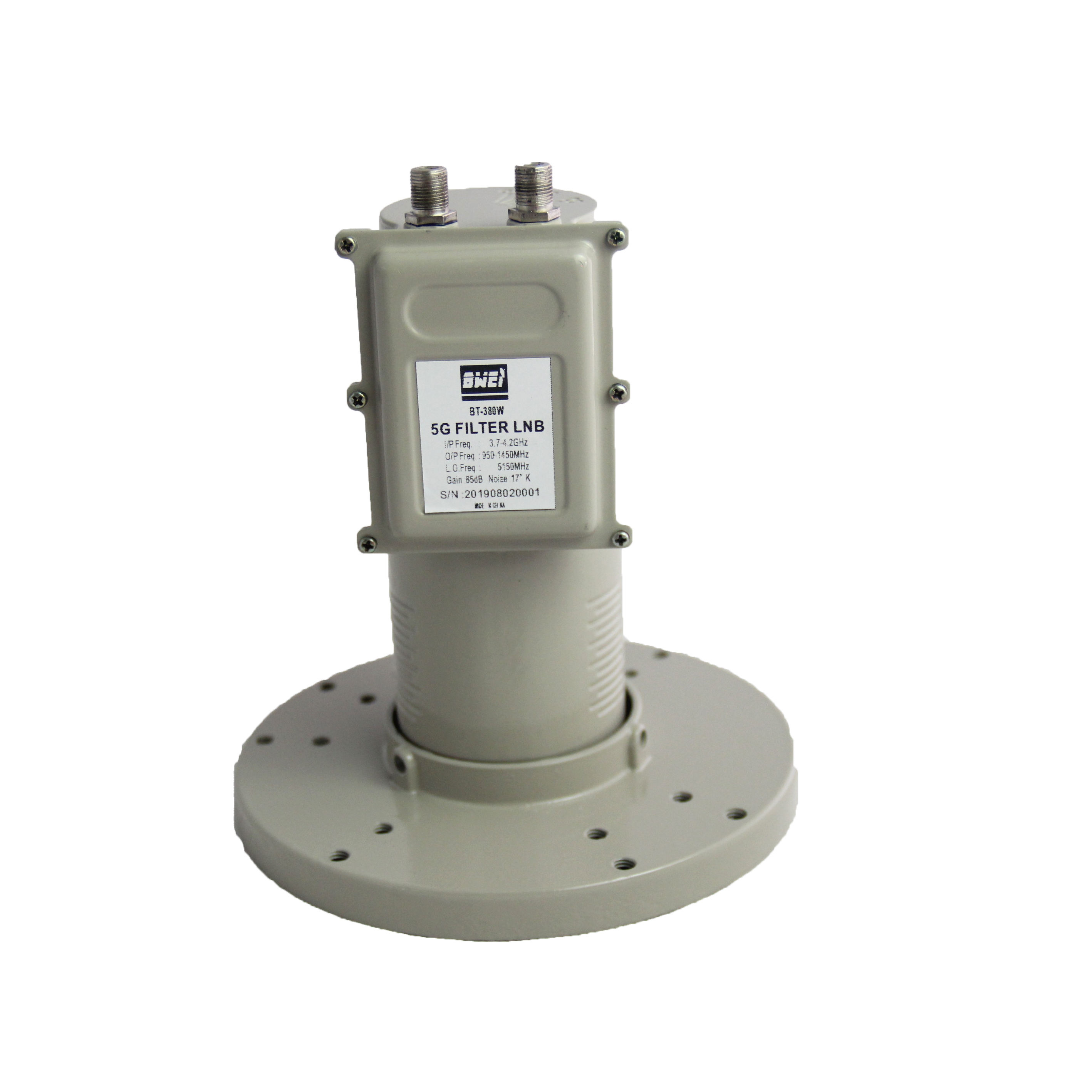 Anti-Interference High Gain Ganda Output C Band LNB 5G Penerima Satelit Filter