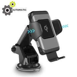 Super Wireless Automatic Sensor Car Charger Wireless Car Holder for iphone 11 Pro X
