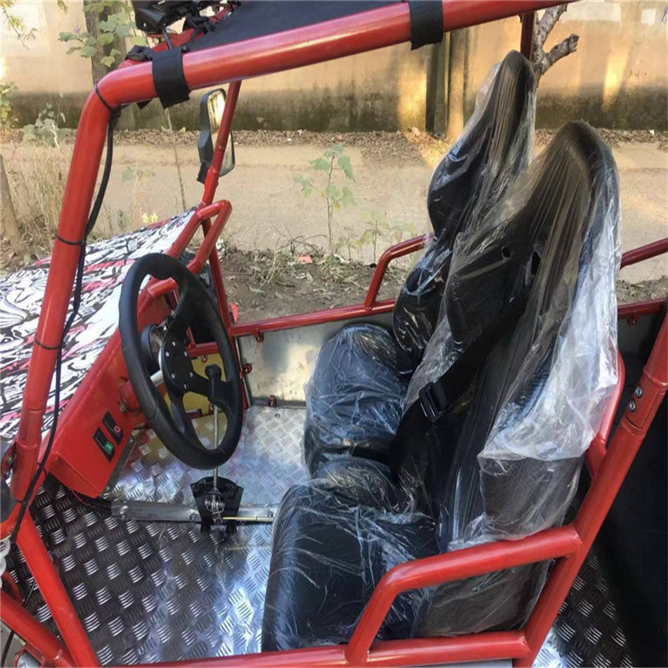 Big 300CC Five Seats Go Kart with Double Chain Power Transmission