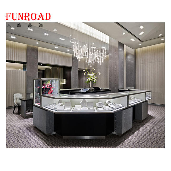 Factory Supply Jewelry Cabinet Mirror with Jewelry Shopping Glass Display Showcase Indian Jewellery Wholesalers Uk