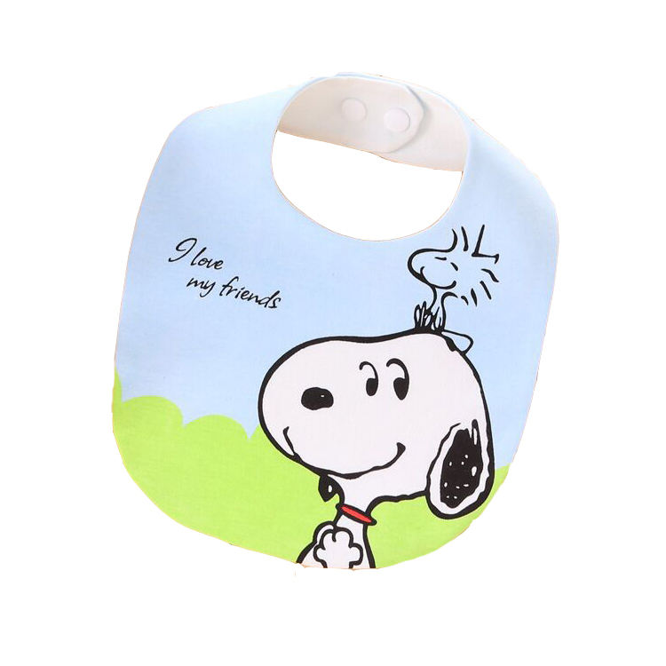 New style lovely baby all sorts modelling prevent dirty waterproof saliva towel