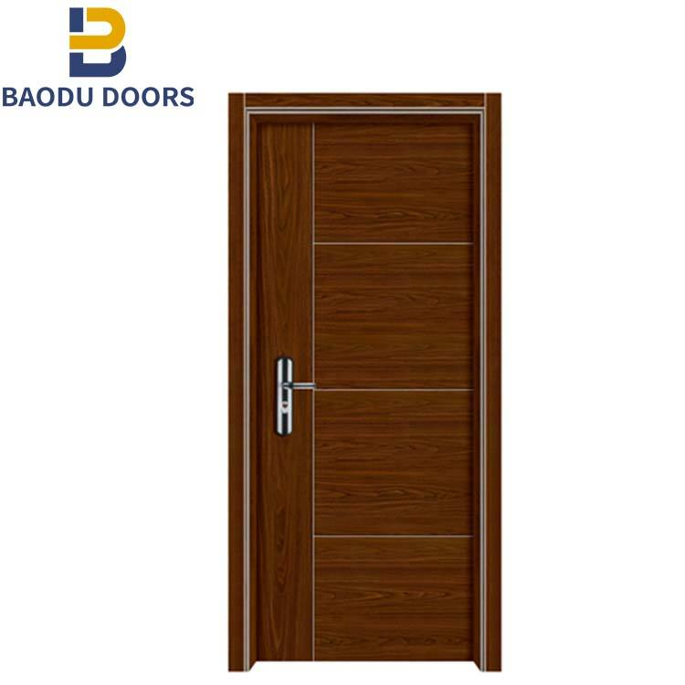China supplier fire rated safety door hotel room door interior metal door