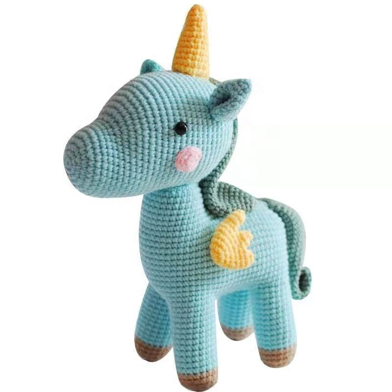 Best Sewing Unicorn Crocket Project Amazon Easy Quick Armigrumi patterns hook thead Learn to crochet Kits For Beginners