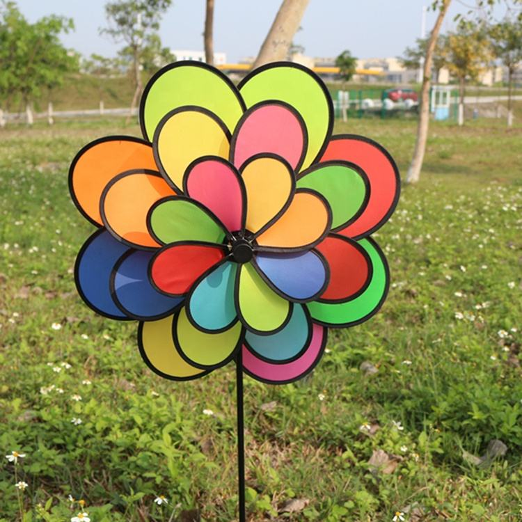 Pvc colourful windmill,Windmill toy,Garden windmill