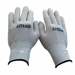 Elysaid Hand Massage Electrode Mitten Silver Fiber for TENS Electrotherapy