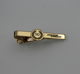 Manufacturer High quality custom logo Gold Plated Suitable for Wedding and Business Pendant tie clip tie bars