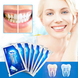 Private Label Teeth Whitening Strips Home Use Dental White Strips