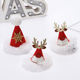 New Korean Style Mini Hat Sequin Cute Girls Hairpins Christmas Reindeer Antlers Barrette