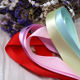 Satin Ribbon Factory Large Stocked Polyester Solid Color 6-40MM Single/Double Faced Satin Ribbon