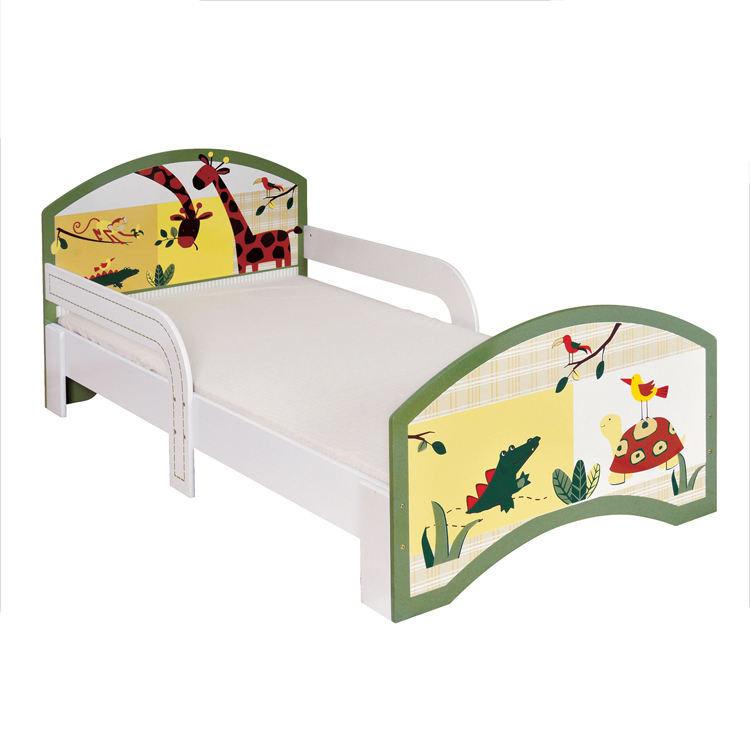 High quality cheap Wooden laminates children Furniture child bed