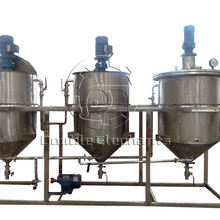Soybean cooking oil refining machine small oil refinery