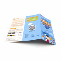 Tri-fold brochures printing sample manual instructions booklet