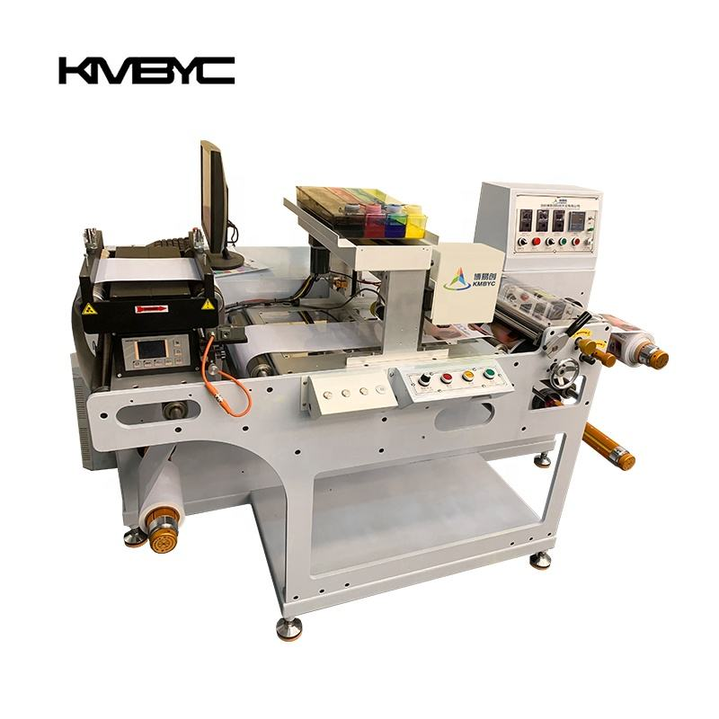 Roll to Roll Printing Machine One Pass High Speed UV Printer CMYK Color Printer Machine