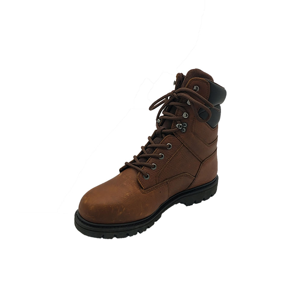 wholesale work boots Men genuine leather steel toe safety shoes with goodyear welted