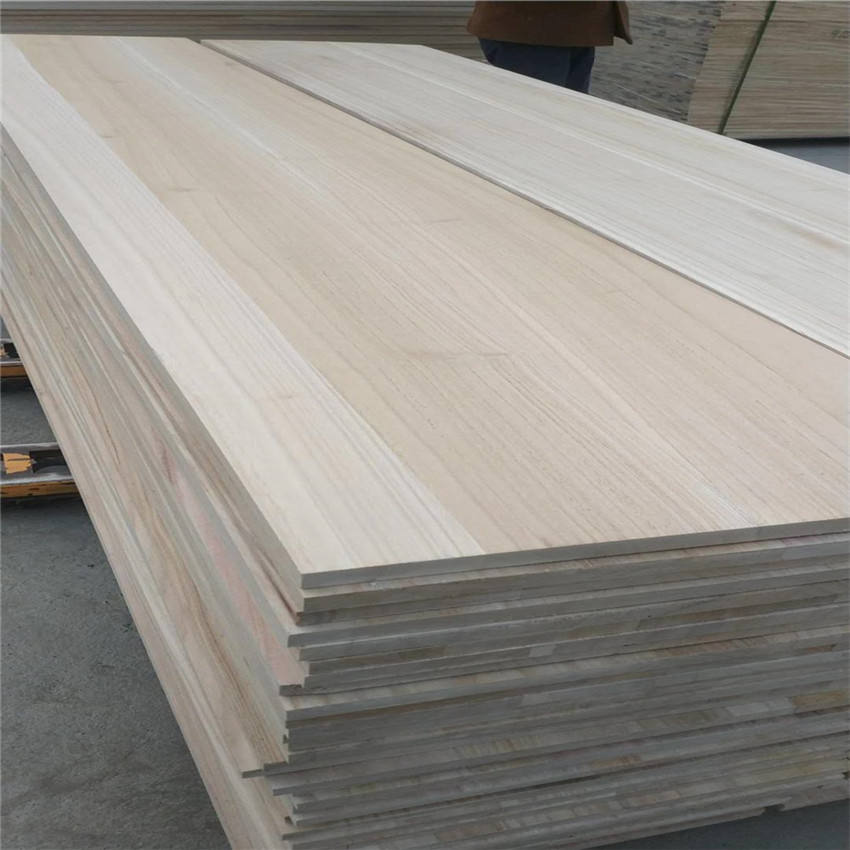 offer chinese low price paulownia wood Board strip for coffin