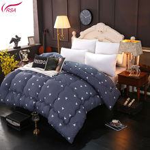 Wholesale Simple And Fresh Style Printing Thickening Edge Grinding Winter Polyester Cotton Quilt