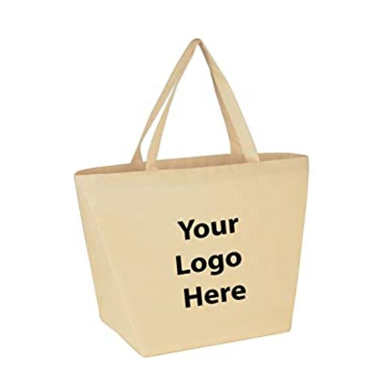 Fashion Shopping Handbag Custom Printing promotion gift bag Canvas Jute Tote Bag