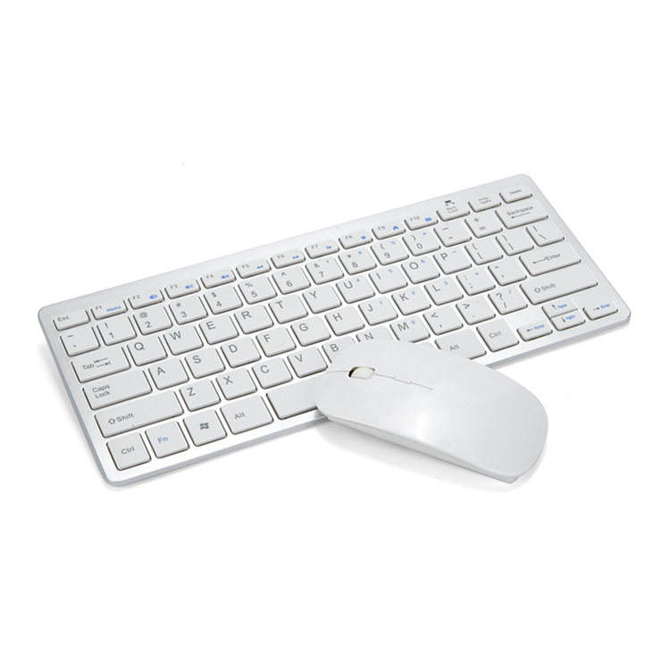 <span class=keywords><strong>Keyboard</strong></span> dan Mouse Nirkabel 2.4G, Kombo untuk Sistem Mac/Windows