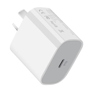 In-Stock EU AU UK Plug 20w PD Charger Mini Size 20W USB C Type QC Mobile Fast Charging Phone Charger for iPhone12 Apple