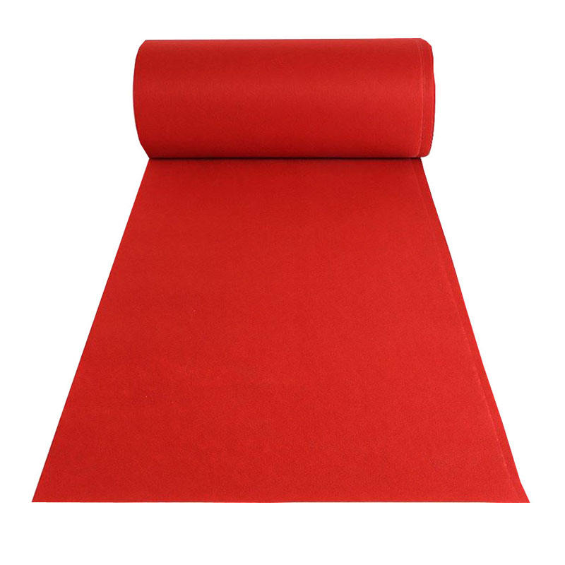 Promotional business activities opening exhibition carpet expo red carpet roll with cheap price