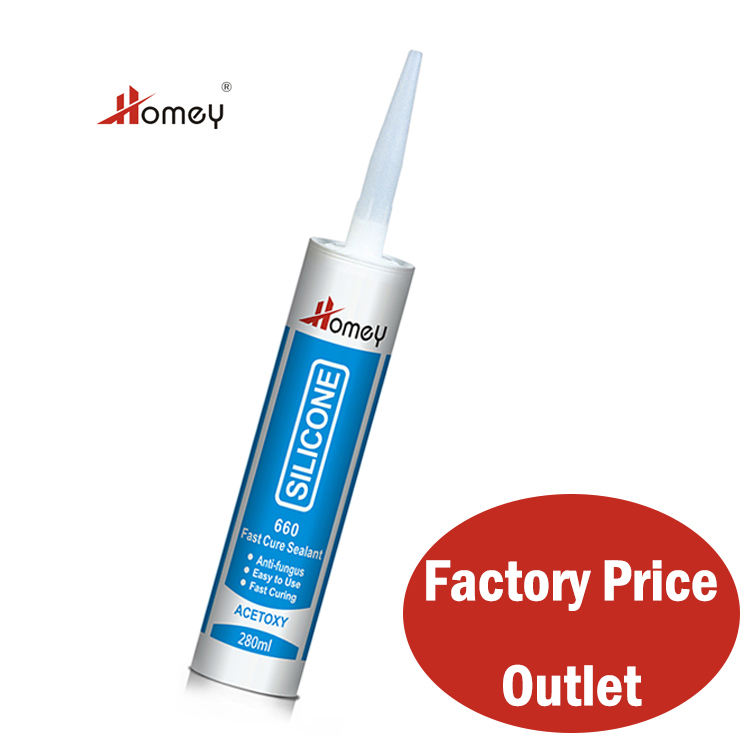 Homey 660 sanitary glazing silicone sealant for construction use