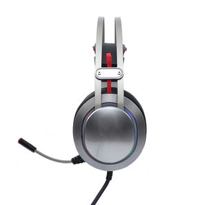 Beste USB Gaming Headset mit 7,1 Surround Sound Stereo, PC Kopfhörer mit Noise Cancelling Mic & RGB Licht