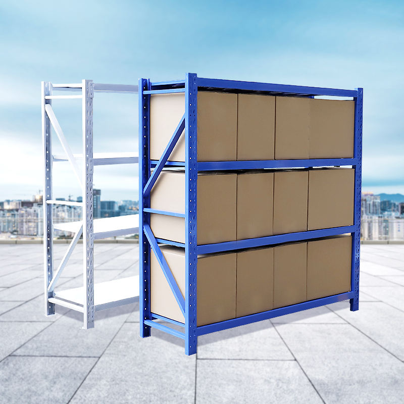 custom Supermarket warehouse storage steel stacking shelves storage shelf steel racks for shops