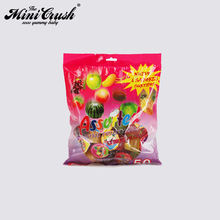 Sweet taste jelly bean candy bag strawberry flavour mini jelly