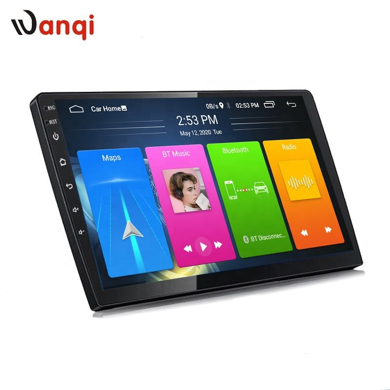 Wanqi Android 8,1 9/10 zoll 2,5 D IPS <span class=keywords><strong>Auto</strong></span> Multimedia-Player Radio Video Stereo GPS Navigation für Universal Split-Screen wiFi