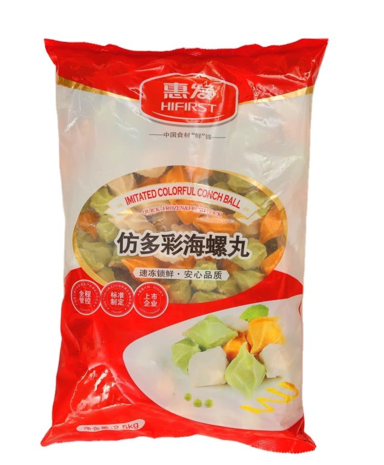 Food OEM factory Frozen food seafood in surimi for hotpot