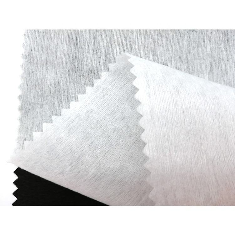 Natural 40gsm 100% Organic Bamboo Fiber Spunlace Nonwoven Fabric for Wet wipes / Face Mask
