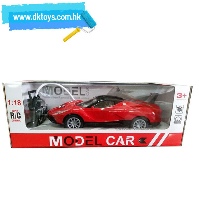 1:18 Ferrariedly four-way remote control car 4 CH R/C model CAR FOR KIDS