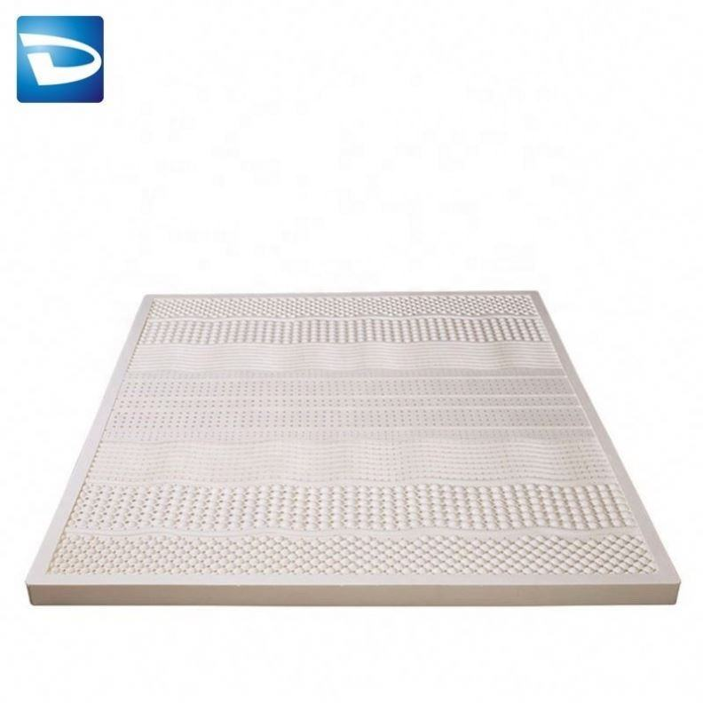 Roll Compressed Cool Gel Memory Foam Natural Malaysia Latex Mattress