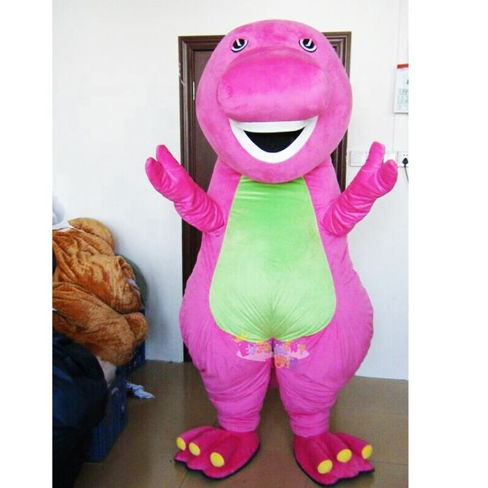 Enjoyment CE barney mascot costume for sale