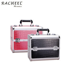 RCHEEL New Makeup case Storage Box Cosmetic Organizer Container Suitcase Beauty Case
