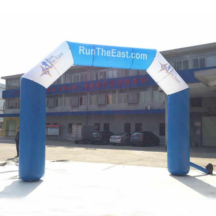 Outdoor Event Promotional Archway Airtight Start Finish Inflatable Entrance Arch