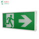 Factory direct led indicator exit sign with three hours battery certified emergency lightscertified lights