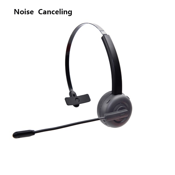 Wireless plantronics voyager zoom Bluetooth headset with Noise Canceling is used for truck drivers and call centers headphone