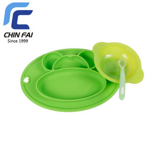 4 unidades, reutilizables Get Fresh Juego de platos de bamb/ú para ni/ños
