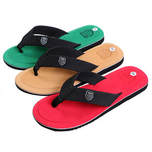 Customized Logo And Size Comfortable Beach Slippers Cheap Wholesale Eva Flip Flops for men