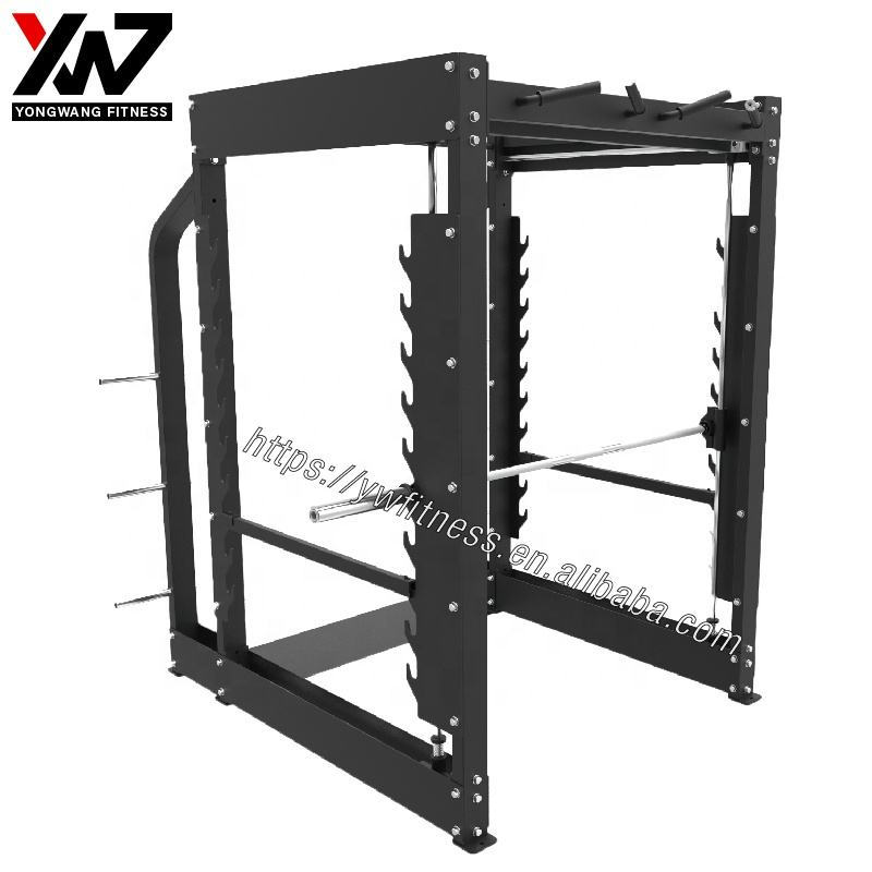 En iyi güç rack'i 3D Smith Makinesi squat 3D smith