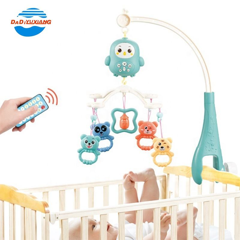 Removable Musical Hanging Baby Toy Baby Bed Bell Toys