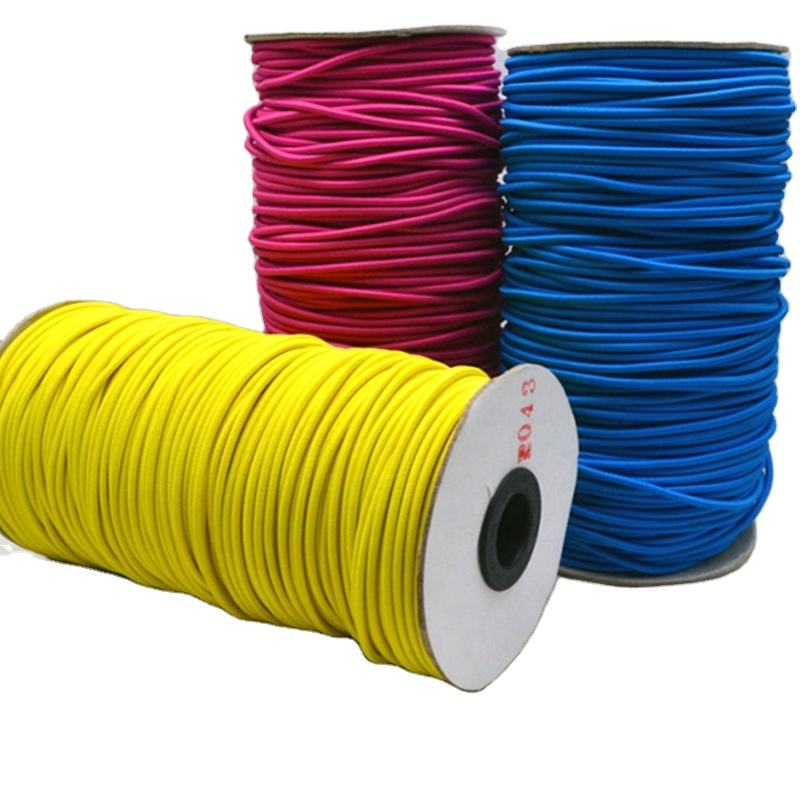 wholesale all size grade colorful elastic cord shock cord bungee cord for garments TCCD03