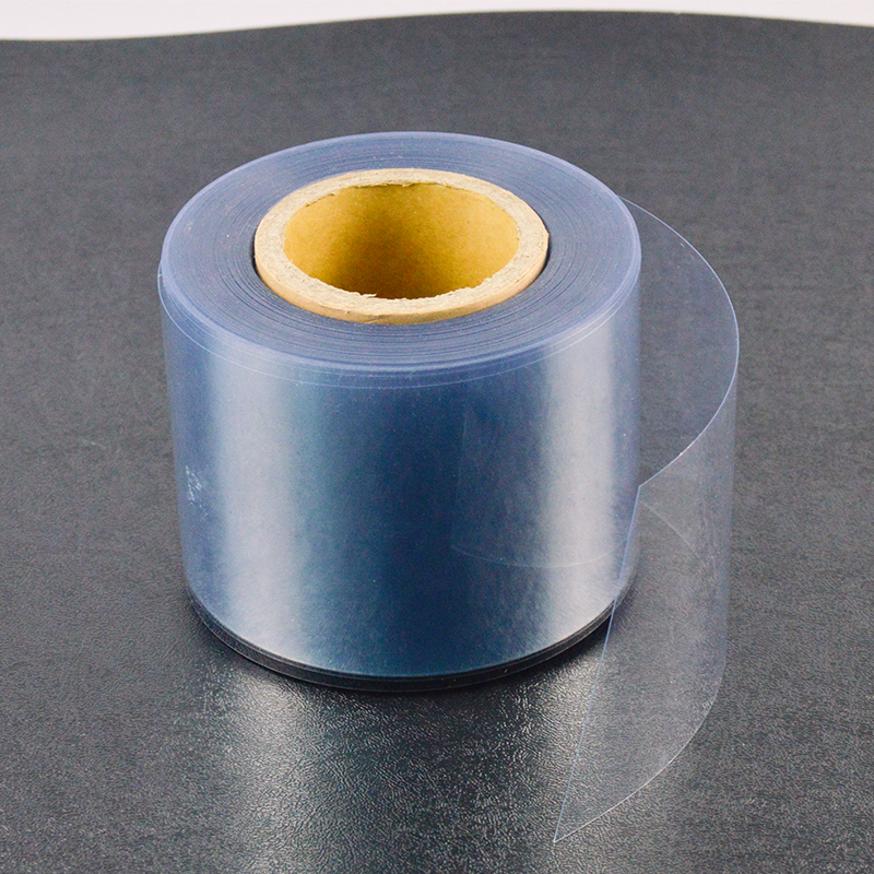 50-1600 Micron Glossy Rigid PVC Film Sheets Plastic PVC sheet Roll Manufacturer for Thermoforming Packaging