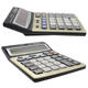 Metal Calculator Wholesale Office 12 Digit Big Number Metal Surface Check A Clear Scientific Calculator