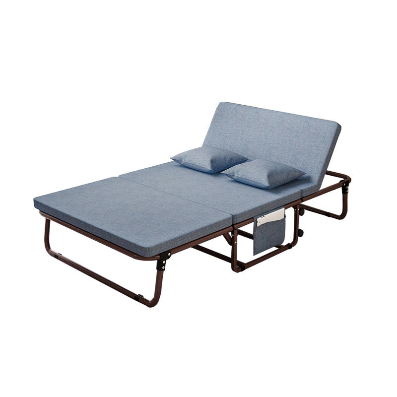 Space-saving living room furniture nap cheap bed adjustable metal bed sofa wall bed