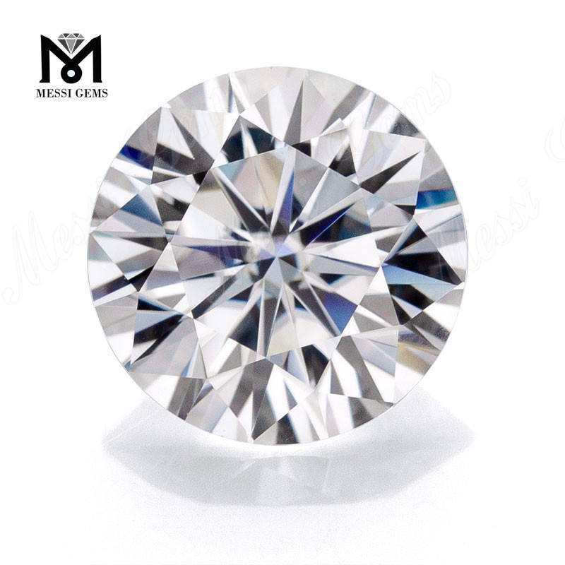 Wuzhou Wholesale Stones Round Brilliant Cut 1CT DEF Loose Moissanite